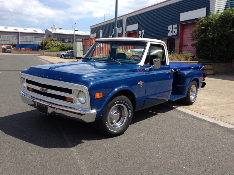 Welcome To Back To Life Cars 1968 Chevrolet C10 Stepside 1